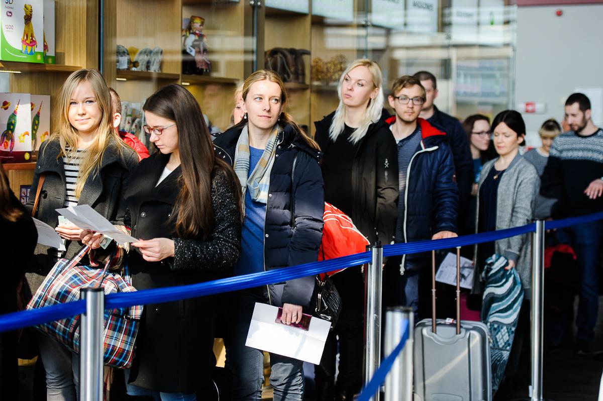 Vilniaus oro uosto keleivių dėmesiui: prieš rekonstrukciją saugumo patikra gali užsitęsti