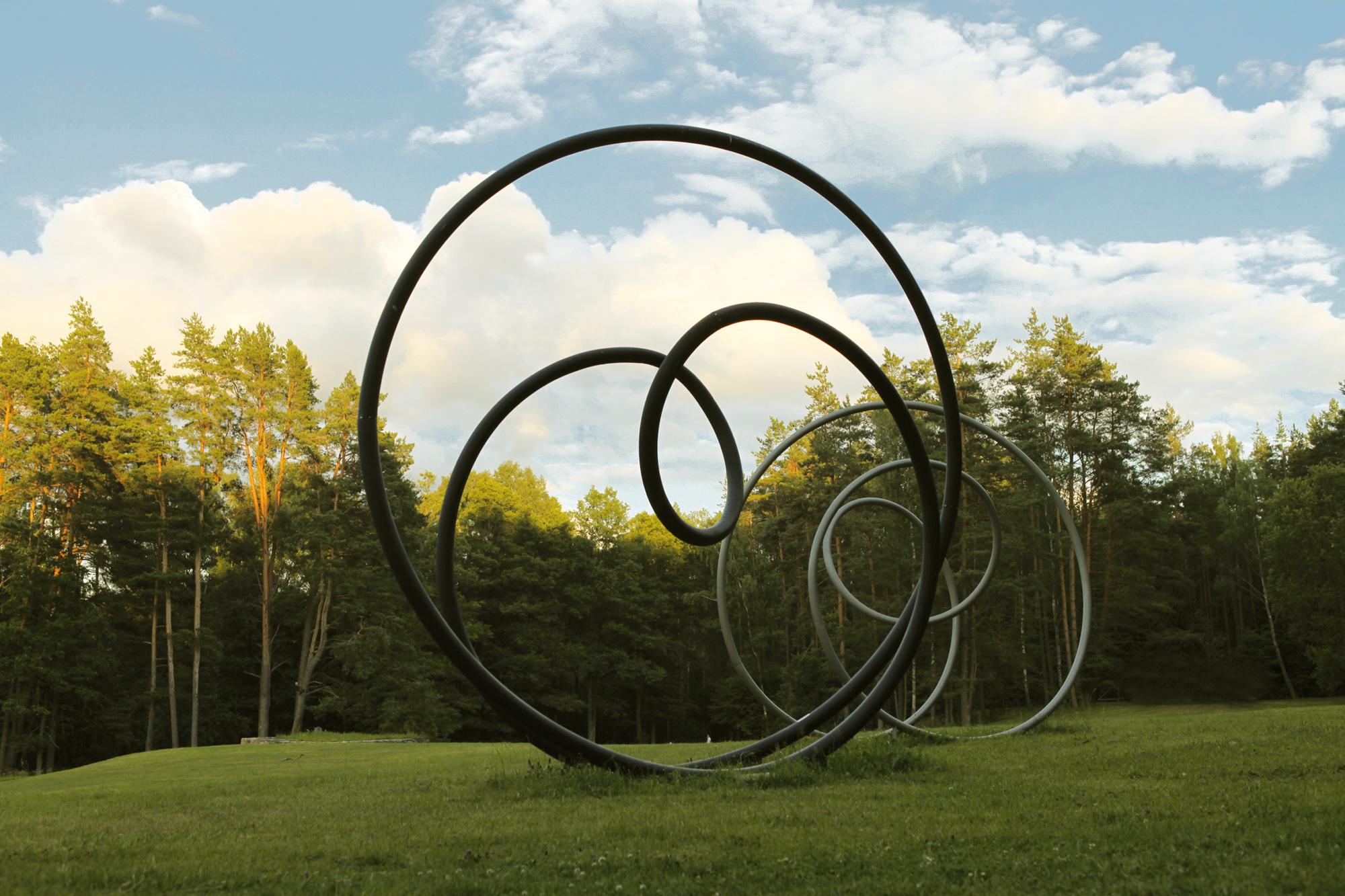Europos parke – milžiniška Sasono Soferio skulptūra