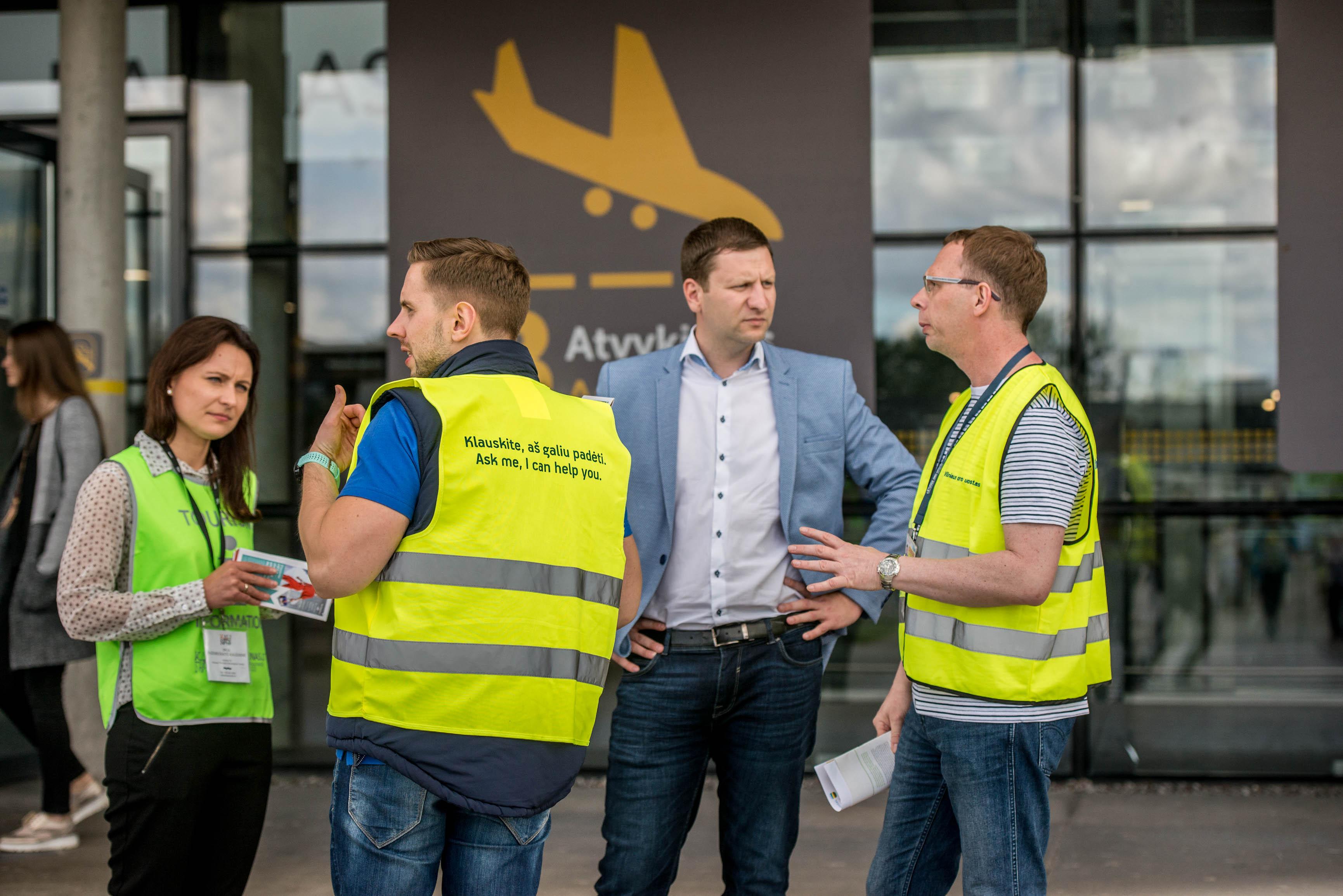 Pagrindiniais šalies oro vartais tapęs Kaunas egzaminą išlaikė sėkmingai
