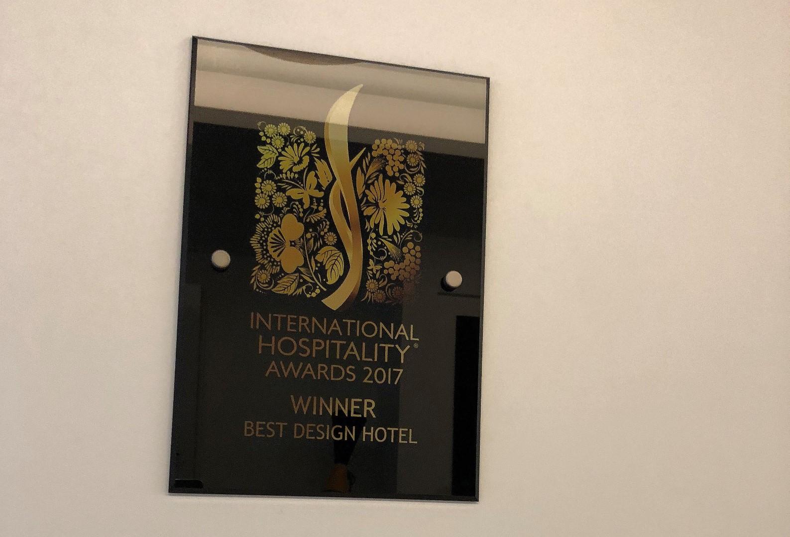Tarptautinis pripažinimas: lietuviškas viešbutis apdovanotas už išskirtinį dizainą