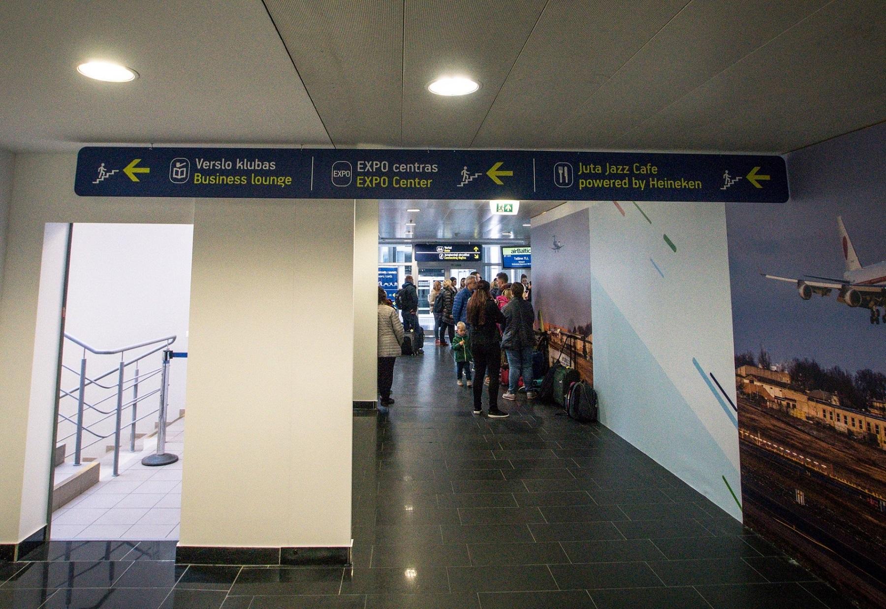 Vilniaus oro uosto rekonstrukcija startuoja nuo pertvarkų išvykimo salėje