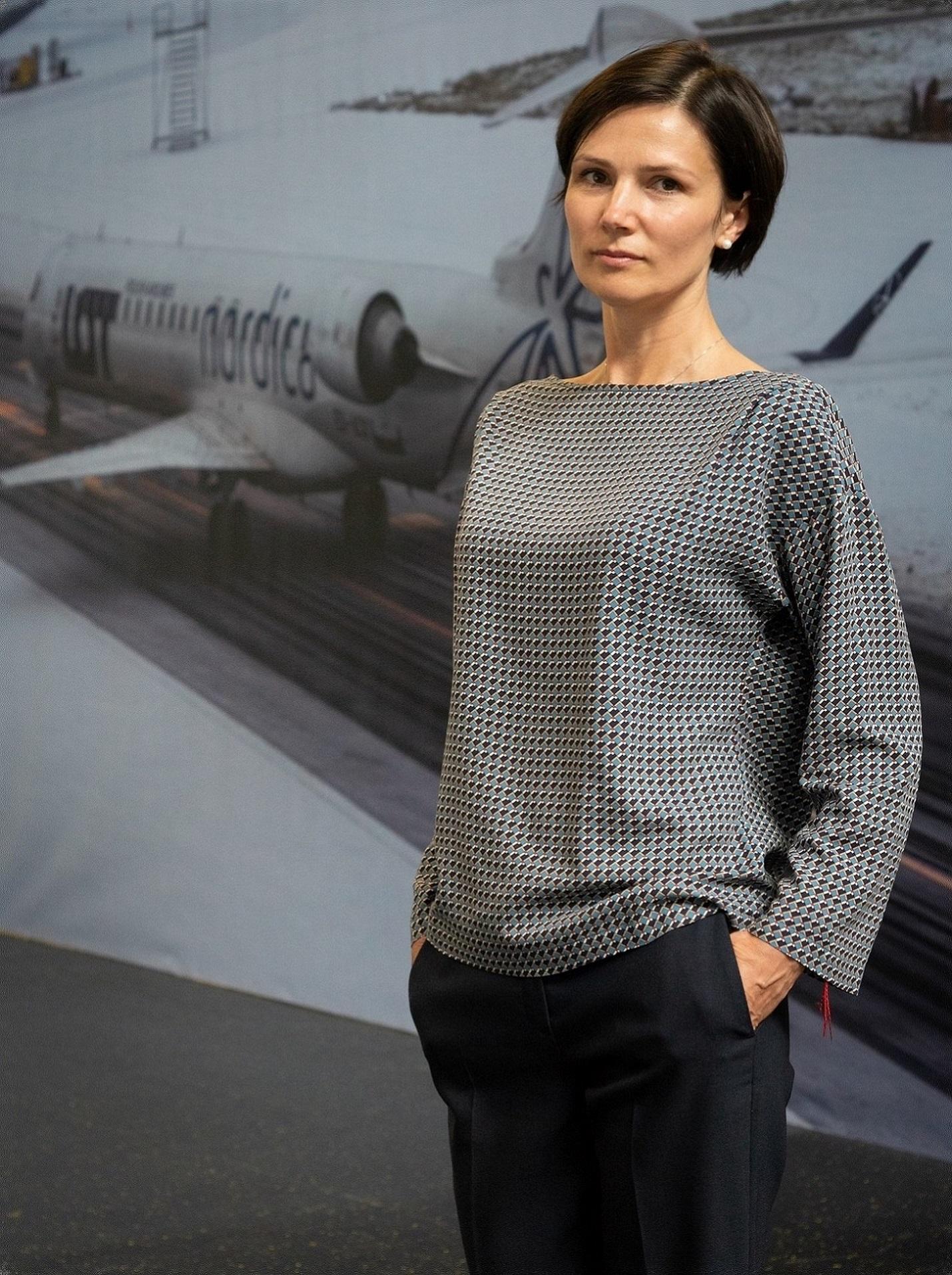 Darbą pradėjo nauja Lietuvos oro uostų vykdomoji direktorė