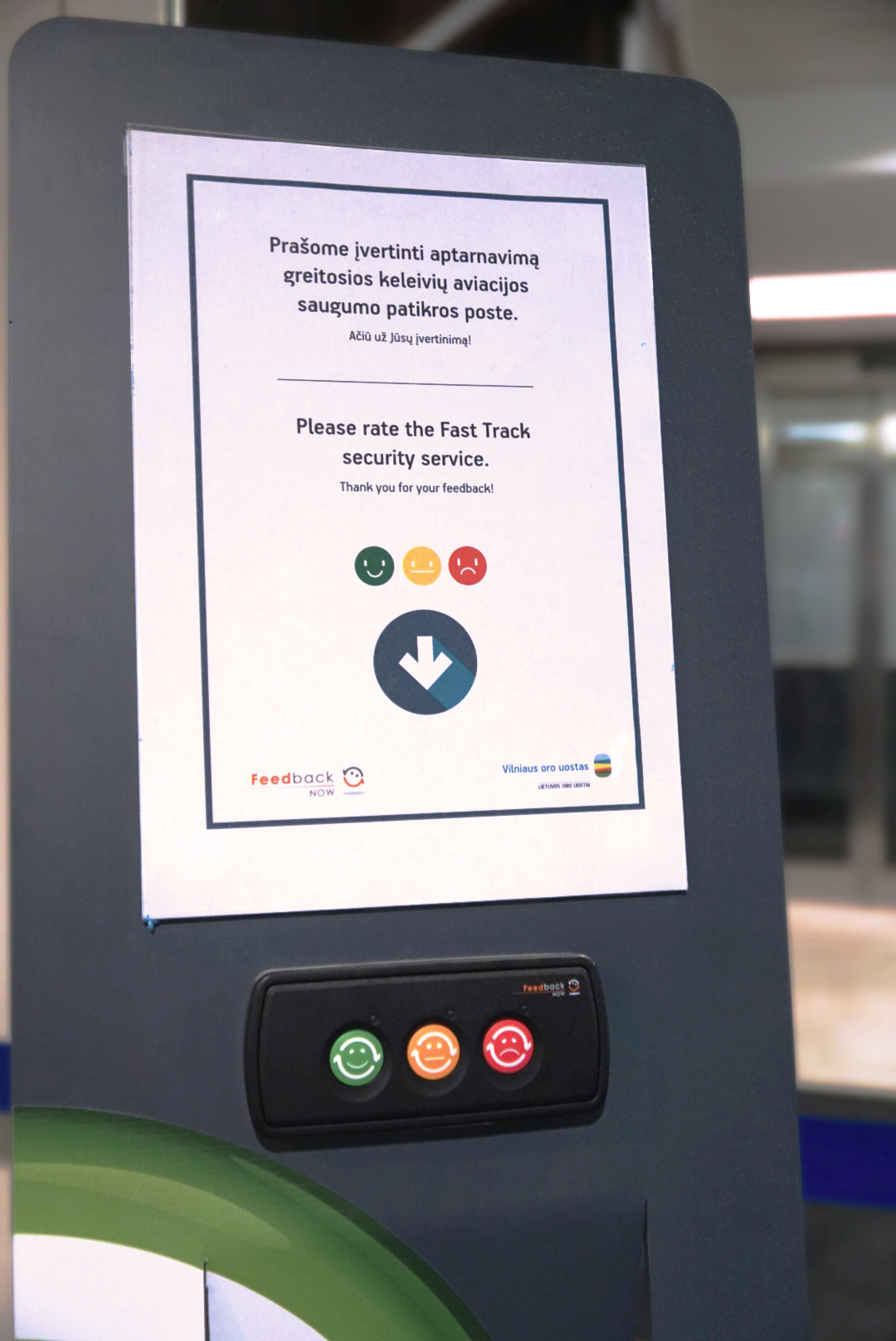 Kelti paslaugų kokybės kartelę oro uostams padės keleiviai
