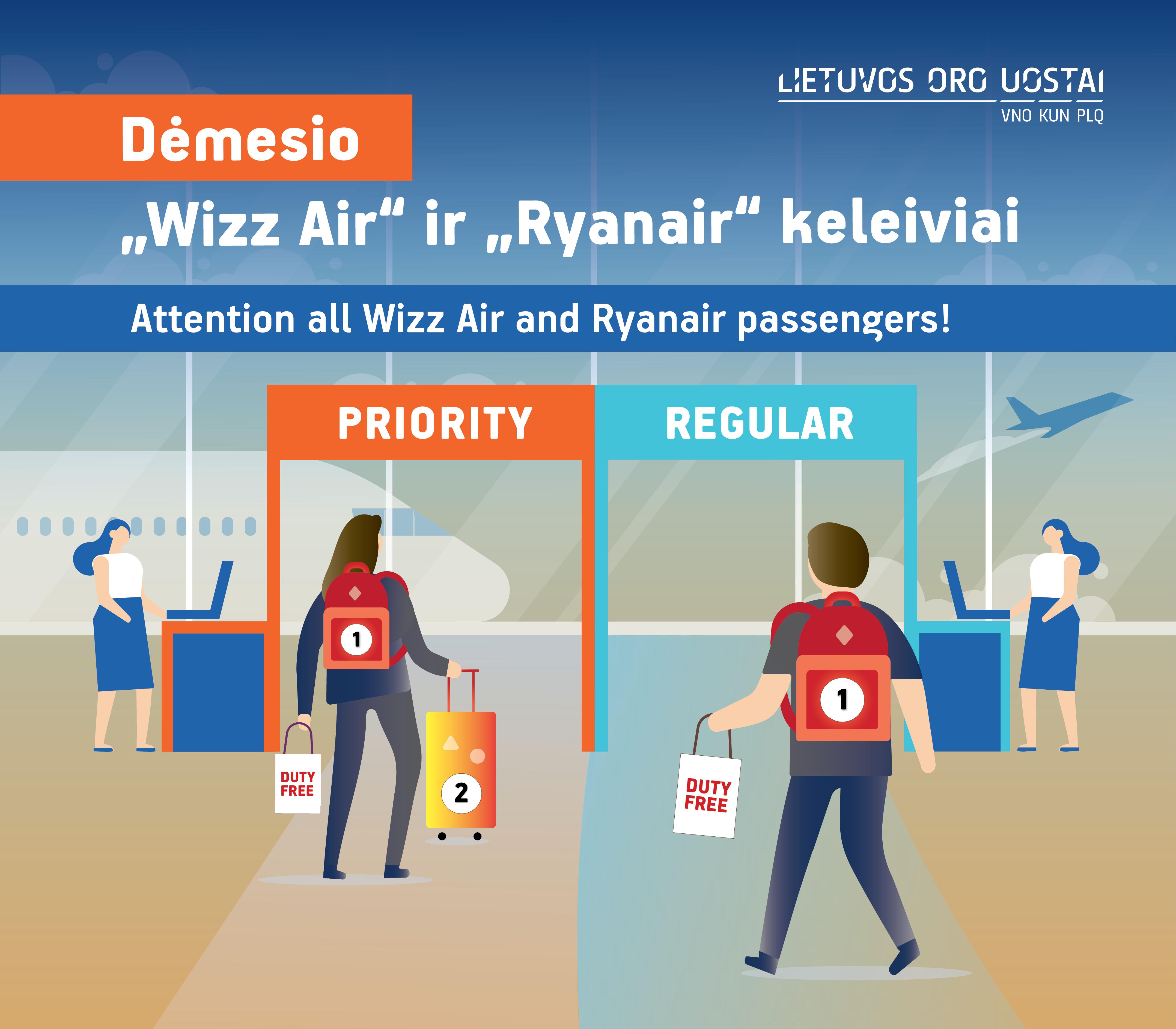 Lietuvos oro uostai primena: nuo lapkričio 1 d. keliautojams pravers auksinė taisyklė