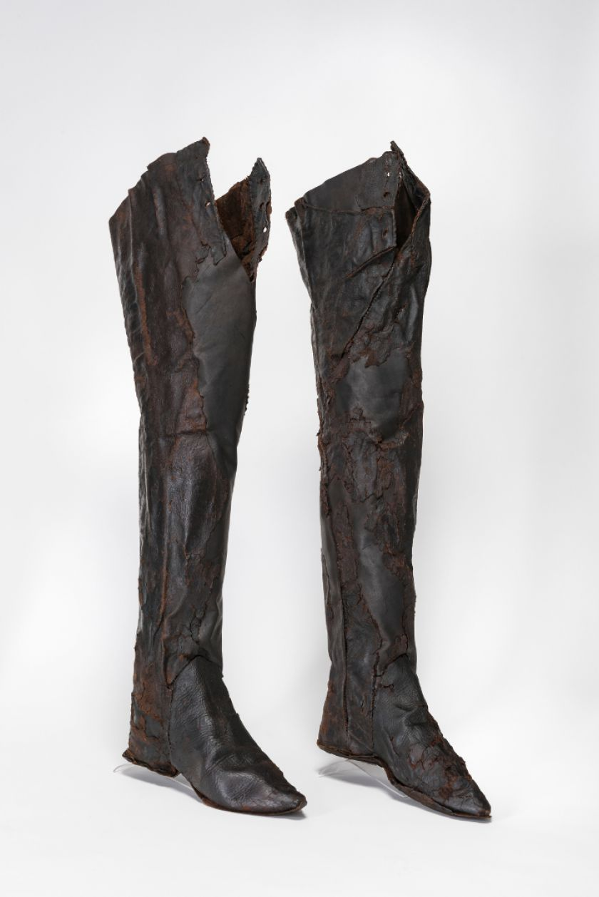 Archeologinės avalynės paroda: istorijos ir apie žmones, ir apie batus